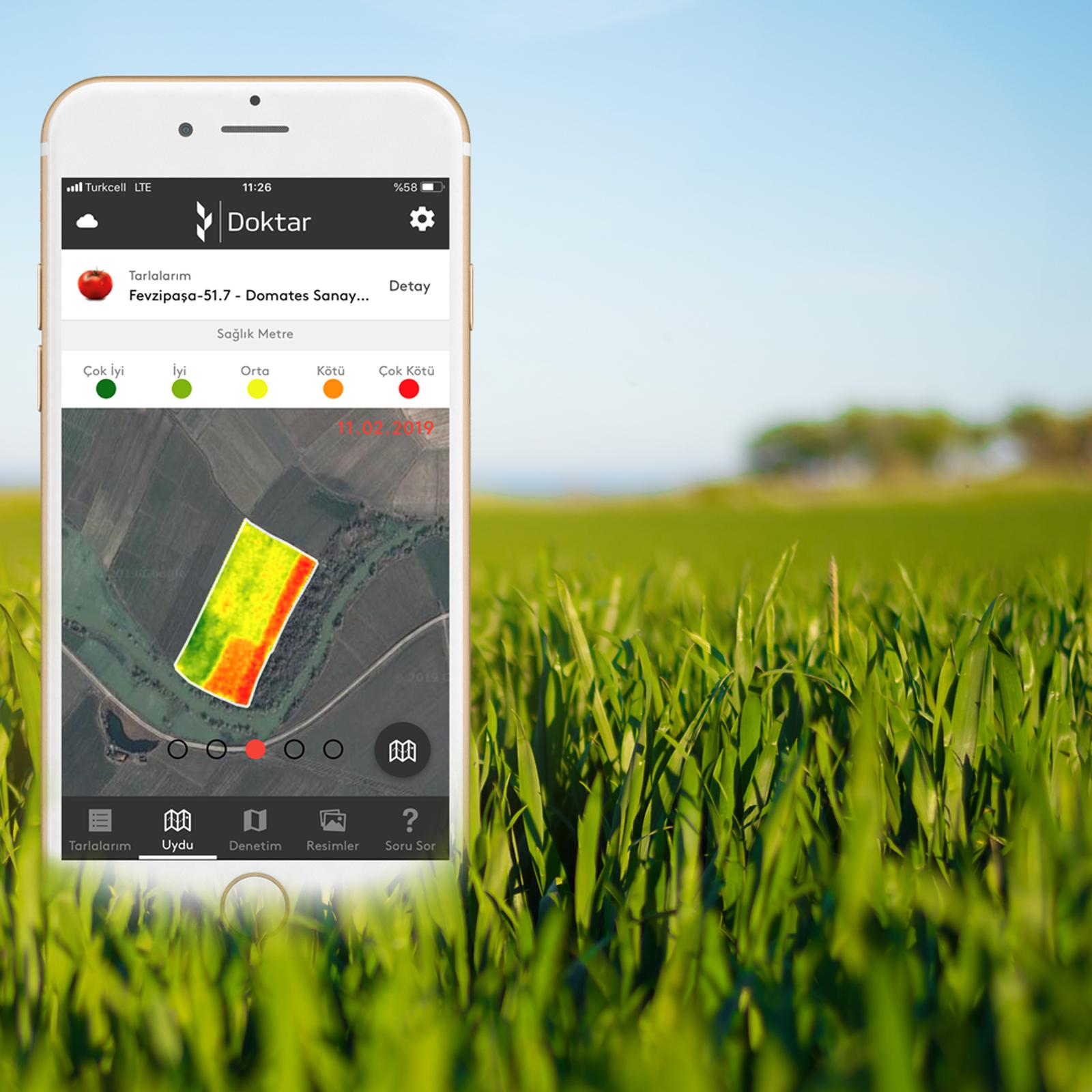 Tarımda Yazılım Teknolojisi